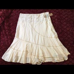 Cotton flirty skirt NEW